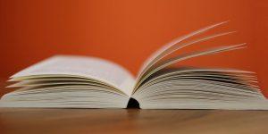 flip open a book