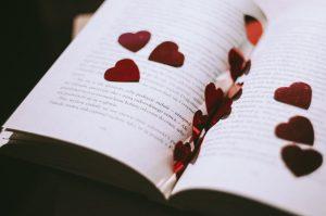 love cozy reading paperback book
