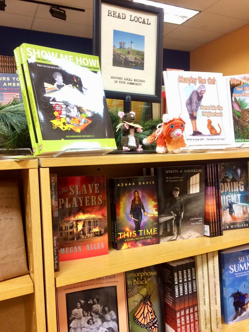 This Time by Azaaa Davis is at the Book Cellar in Nashua, New Hampshire
