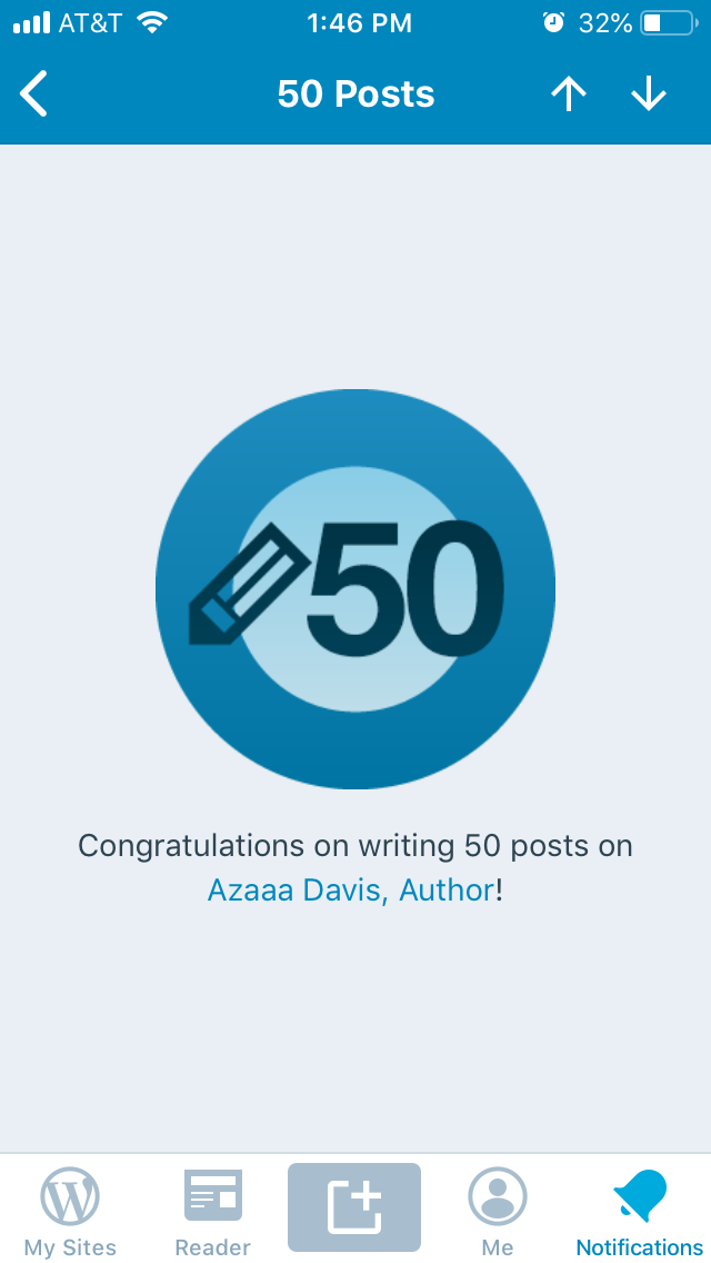 50 articles and counting