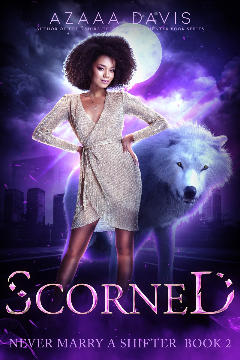 Cover Reveal for Scorned by @azaaadavis  |  #coverreveal #shifters #paranormalromance #PNR #AzaaaDavis