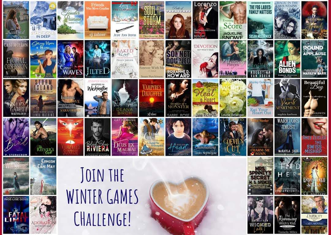 Last Chance to Sign Up for the Winter Games Reader Challenge! | #readers #read #review #free #ebooks #games #prizes
